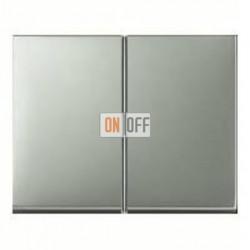 Выключатель двухклавишный, проходной (вкл/выкл с 2-х мест) 10 А / 250 В~ 14357004 - 303808