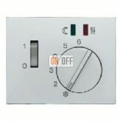 Термостат 230 В~ 10А с выносным датчиком для электрического подогрева пола механизм Eberle 16727104 - FRe 525 22