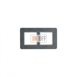 Рамка двойная Berker Q.7  бетон 10126020