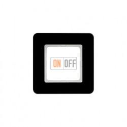 Рамка одинарная Berker Q.7 черное стекло 10116076