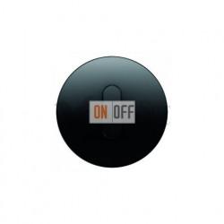 Поворотный выключатель на 2 направления Berker R.classic черный глянцевый 387500 - 10012045