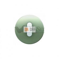 Поворотный выключатель на 2 направления Berker R.classic нержавеющая сталь/полярная белизна 387500 - 10012014