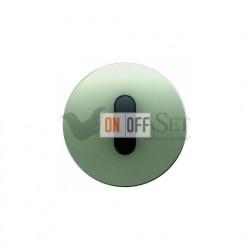 Поворотный выключатель на 2 направления Berker R.classic нержавеющая сталь/черный 387500 - 10012004