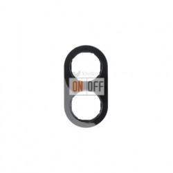 Рамка двойная Berker R.classic черный глянцевый 10122045