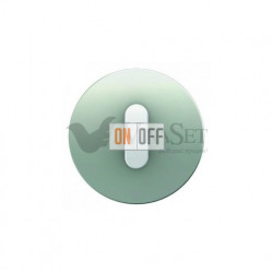 Поворотный выключатель на 2 направления Berker R.classic алюминий/полярная белизна 387500 - 10012074