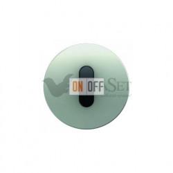 Поворотный выключатель-переключатель  Berker R.classic алюминий/черный 387600 - 10012084