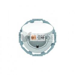 Розетка электрическая с заземлением с крышкой 16 А 250 В, Berker R.classic полярная белизна 47442089