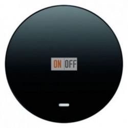 Выключатель одноклавишный с подсветкой, универс. (вкл/выкл с 2-х мест) 10 А / 250 В~ 16212045 - 3036 - 1675