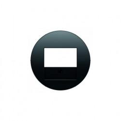 Розетка USB двойная, для зарядка, 1,4 А, вставка антрацит 260005 - 10382045