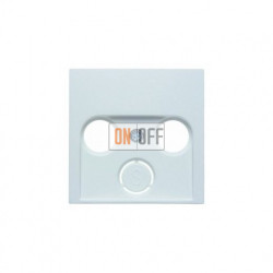 Розетка  оконечная TV FM, диапазон частот от 4 до 2400 MГц, белый глянцевый 12038989 - S2900