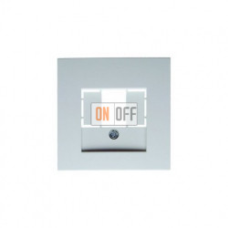 Розетка USB двойная, для зарядка, 1,4 А, вставка белая 260009 - 10331909