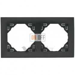 Рамка двойная  Efapel logus 90 серый 90920 TIS