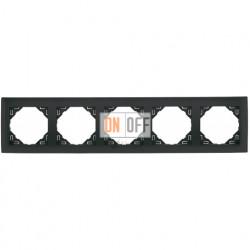 Рамка пятерная Efapel logus 90 серый 90950 TIS