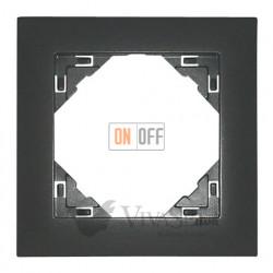 Рамка одинарная Efapel logus 90 серый 90910 TIS