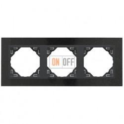 Рамка тройная Efapel logus 90 гранит/серый 90930 TGS