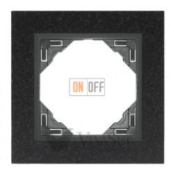 Рамка одинарная Efapel logus 90 гранит/серый 90910 TGS