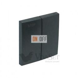 Выключатель для жалюзи с электрической блокировкой  Efapel logus 90 серый 21290 - 90613 TIS