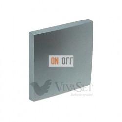 Переключатель  1 клавишный (с 2-х мест) 10А 250V~ Efapel logus 90 алюминий 21071 - 90601 TAL