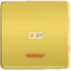 Выключатель одноклавишный с подсветкой 10А 250 V~ FD04312OR - FD21139-1 - FD16505 - FD16-BAST
