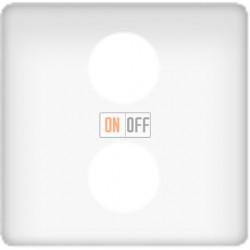 Телевизионная розетка оконечная с двойным SAT+DC/TV (белый). FD0322 - FD011F - FD16-BAST