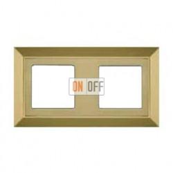 Рамка двойная, для горизонтального/вертикального монтажа FD01252OB