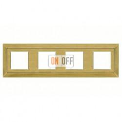 Рамка четверная, для горизонтального/вертикального монтажа FD01254PM