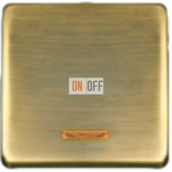 Переключатель одноклавишный с подсветкой  с 2-х мест. FD04312PM - FD21139-2 - FD16506 - FD16-BAST