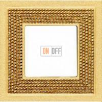Crystal De Luxe Art Красное золото Рамка 1-я Real Gold FD01291OR