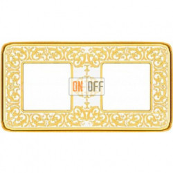 Emporio Светлое золото / Белая патина Рамка 2-я Gold White Patina FD01372OP