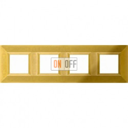 FEDE Granada Блестящее золото Рамка 4-я Bright Gold FD01414OB