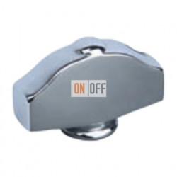 Светлый хром Овал фигурный Поворотная ручка Bright Chrome (Cromo Brillo) FD02314CB