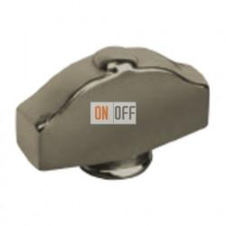Никель Овал фигурный Поворотная ручка Nickel Satin (Nickel Satinado) FD02314NS