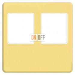 Аудиорозетка двойная (светлое золото) FD04318OB-A - FD-310ST - FD-310ST - FD16-BAST