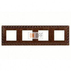 Рамка четверная, для горизонтального/вертикального монтажа FD01224RU