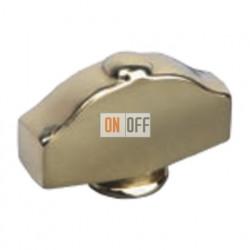Овал фигурный Светлое золото Поворотная ручка Bright Gold (Oro Brillo) FD02314OB