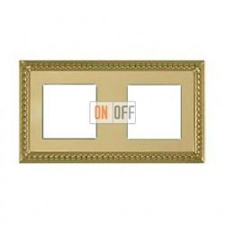 Рамка двойная, для горизонтального/вертикального монтажа FD01232OB