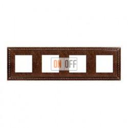 Рамка четверная, для горизонтального/вертикального монтажа FD01234RU
