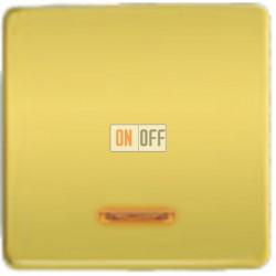 Выключатель одноклавишный с подсветкой 10А 250 V~ FD04312OB - FD21139-1 - FD16505 - FD16-BAST