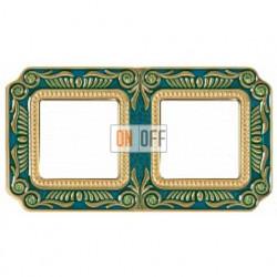 FEDE Firenze Голубой сапфир Рамка 2-я Blue Sapphire FD01362AZEN