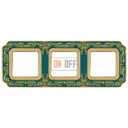 FEDE Firenze Голубой сапфир Рамка 3-я Blue Sapphire FD01363AZEN