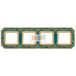 FEDE Firenze Голубой сапфир Рамка 4-я Blue Sapphire FD01364AZEN