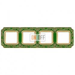 FEDE Firenze Изумрудно-зеленый Рамка 4-я Emerald Green FD01364VEEN