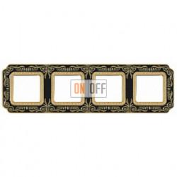 FEDE Firenze Черный Рамка 4-я jet Black FD01364NEEN