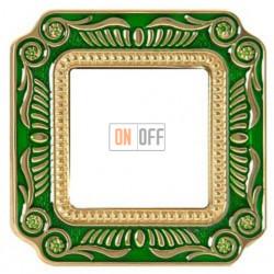 FEDE Firenze Изумрудно-зеленый Рамка 1-я Emerald Green FD01361VEEN