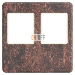 Аудиорозетка двойная (состаренная медь) FD04318RU-A - FD-310ST - FD-310ST - FD16-BAST