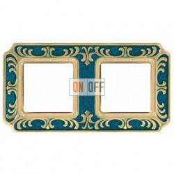 FEDE Siena Голубой сапфир Рамка 2-я Blue Sapphire FD01352AZEN