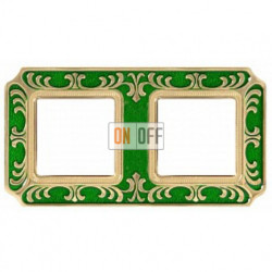 FEDE Siena Изумрудно-зеленый Рамка 2-я Emerald Green FD01352VEEN