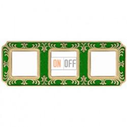 FEDE Siena Изумрудно-зеленый Рамка 3-я Emerald Green FD01353VEEN