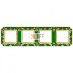 FEDE Siena Изумрудно-зеленый Рамка 4-я Emerald Green FD01354VEEN