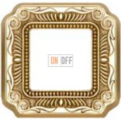 Рамка Toscana Firenze 1 пост (блестящее золото) FD01361OB